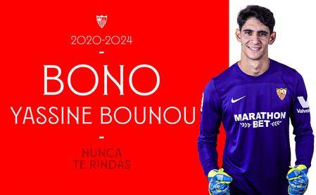 OFICIAL: Bono, cuarto fichaje del Sevilla FC, firma hasta 2024