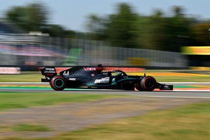 Hamilton fue el mejor en el segundo libre de Monza