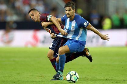 Adrián González da por concluida una etapa en el Málaga de tres temporadas