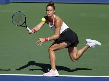 La griega Sakkari pasa a octavos de final y espera a Serena o Stephens