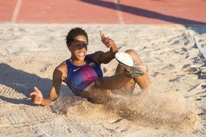 Yulimar Rojas, mejor marca mundial del año con 14,71 m.