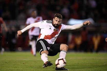 Pratto se lesiona y está en duda para el partido ante el Sao Paulo