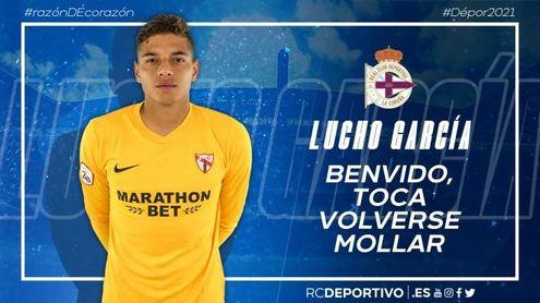 El Deportivo ficha al ex del Sevilla Lucho García