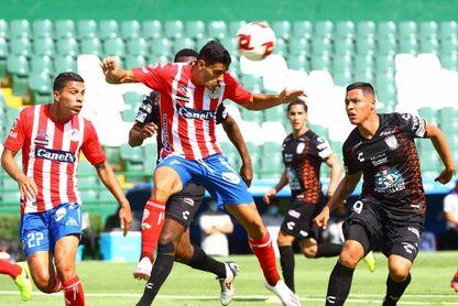 2-1. El argentino Berterame saca al San Luis del fondo de la clasificación