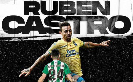Rubén Castro ya tiene equipo: jugará de albinegro y en Segunda