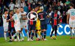 El PSG-Marsella acaba con cinco expulsados, un escupitajo y acusaciones de racismo
