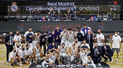 72-67: El Real Madrid se lleva el primer título de la temporada