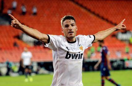 El Valencia llevaba tres años sin marcar cuatro goles en casa