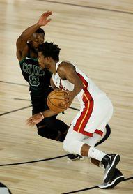 117-114. Adebayo y Dragic dan triunfo y ventaja a Heat sobre Celtics