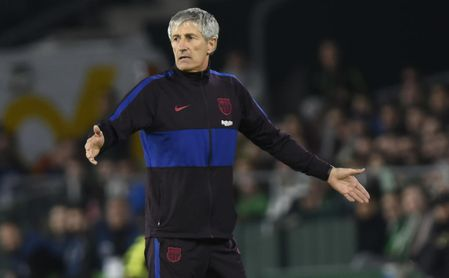 Durísimo comunicado de Setién contra el Barça por su despido.