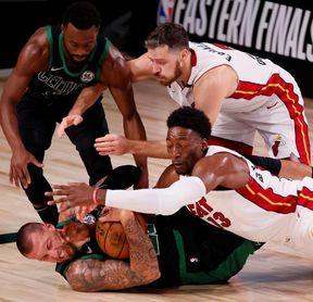 106-101. Dragic y Adebayo llevan a los Heat al segundo triunfo sobre los Celtics