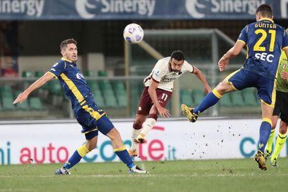 El Roma no pasa del 0-0 en Verona en el debut de Pedro Rodríguez