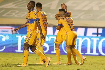 3-0. El uruguayo López anota doblete en la victoria de Tigres UANL sobre Querétaro