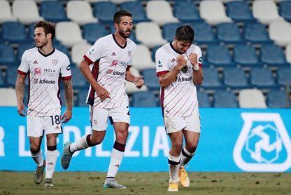 Giovanni Simeone marca en su estreno en la nueva Serie A