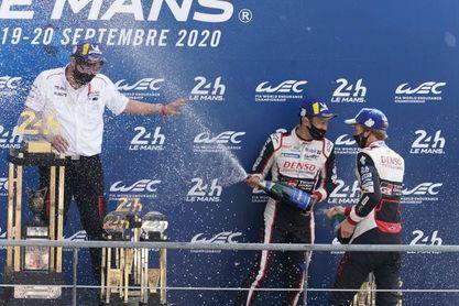 Nakajima, Buemi y Hartley (Toyota) se imponen en las 24 horas de Le Mans