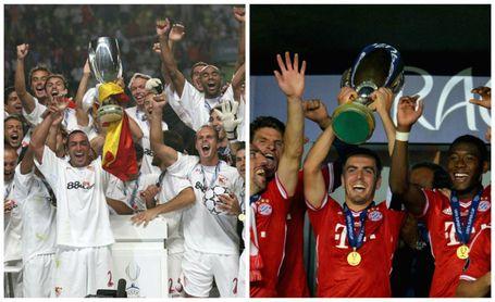 Duelo de malditos en la Supercopa: Sevilla FC y Bayern sólo ganaron 2 títulos en 9 presencias