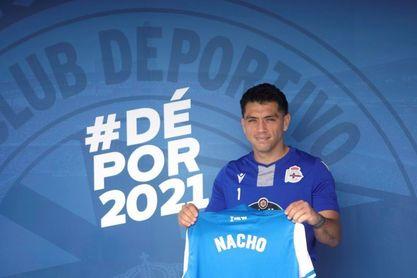 """Nacho González: """"Lo que me motivó es lo grande que es el Dépor"""""""