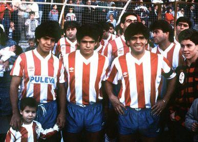 El día que Granada y Malmoe unieron a los hermanos Maradona