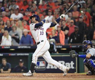 El cubano Yuli Gurriel firma por un año más con los Astros de Houston