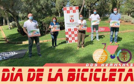 Puesta de largo del Día de la bicicleta de Montequinto y Fuente del Rey