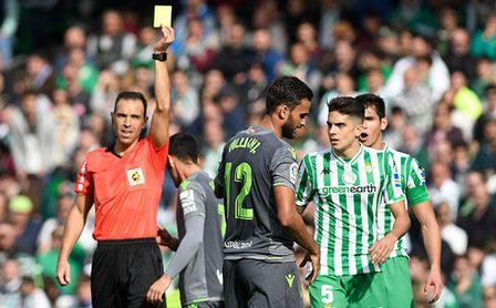 Cuadra Fernández será el árbitro del Valencia-Betis, que están invictos con el balear