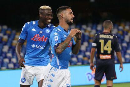 El Nápoles más goleador reta al Juventus de Pirlo