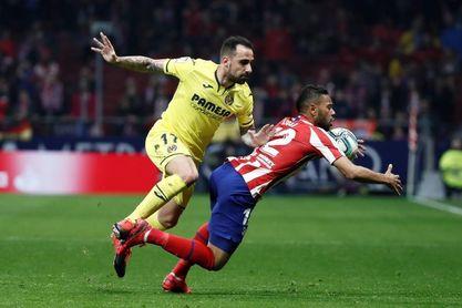 El Villarreal perdió en sus dos últimas visitas al Atlético
