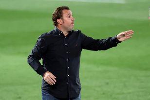 Sergio González advierte de que el partido ante Eibar ´no es de urgencias´