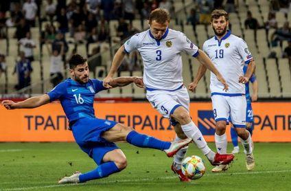 El club griego AEL pierde a un defensa armenio por el conflicto en Nagorno Karabaj