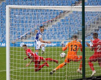 3-0. La Real golea para acabar con el maleficio contra el Getafe en casa