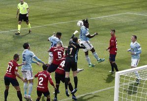 2-0. Roncaglia y Calleri dan los tres puntos a Osasuna frente al Celta