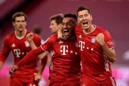Un póquer de Lewandowski sella un difícil triunfo del Bayern ante el Hertha