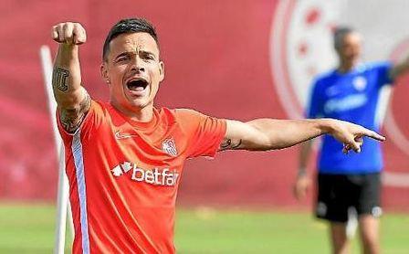 Roque Mesa dice adiós al Sevilla FC.