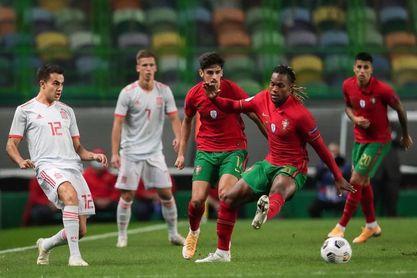 0-0. España y Portugal firman tablas con buen debut de Adama