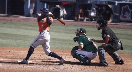 Astros amplían su ventaja; Bravos la inician; Rays la empatan