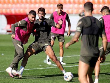 El Atlético insiste en la práctica ofensiva