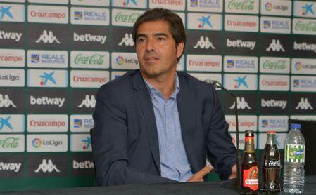 """Haro está """"satisfecho"""" con el mercado del Betis y señala a Pellegrini como """"el mejor fichaje"""""""