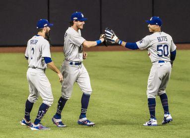 12-3.Dodgers barren a Padres y jugarán sus decimocuartas Series de Campeonato