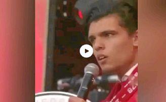 El sevillista Rekik explica a ED el porqué de su vídeo viral cantando.