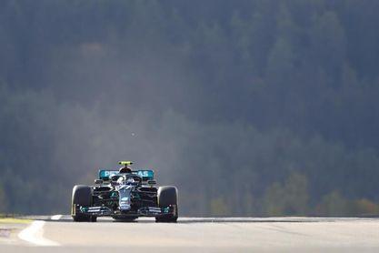 Bottas firmó la 'pole' en el Nürburgring; Pérez saldrá noveno