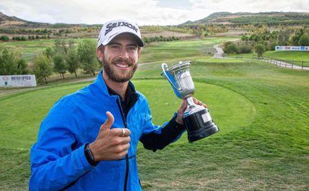Lucas Vacarisas gana el Campeonato de España con un gran último recorrido.