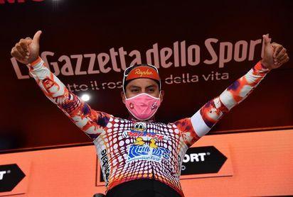 El ecuatoriano Caicedo no busca la clasificación en la general, pero sí otra etapa en el Giro