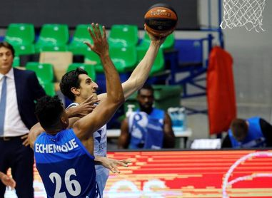 Gipuzkoa Basket encuentra un tesoro en su pívot Jaime Echenique
