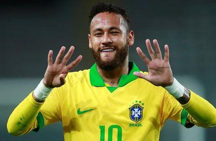 Neymar supera a Ronaldo y está a 13 goles de Pelé