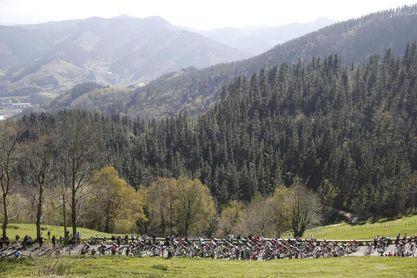 Piden al público que no vaya a los puertos de Arrate y Orduña en la Vuelta