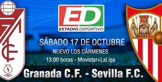 Granada CF-Sevilla FC: 'Todo el mundo a la pista'