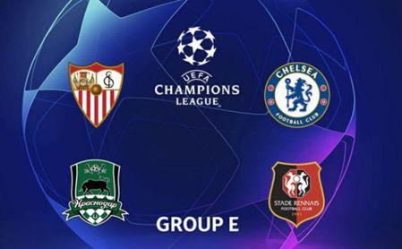 La agenda de los rivales del Sevilla en la Champions.