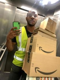 Dan Bramble, el repartidor de Amazon que sueña con Tokio 2021