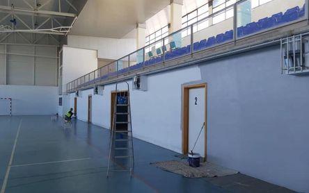 Mejoras en el pabellón y la piscina climatizada de Gerena