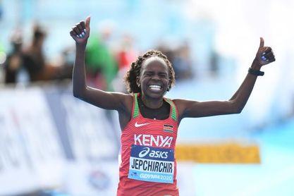 Jepchirchir y Kiplimo triunfan en los Mundiales de medio maratón